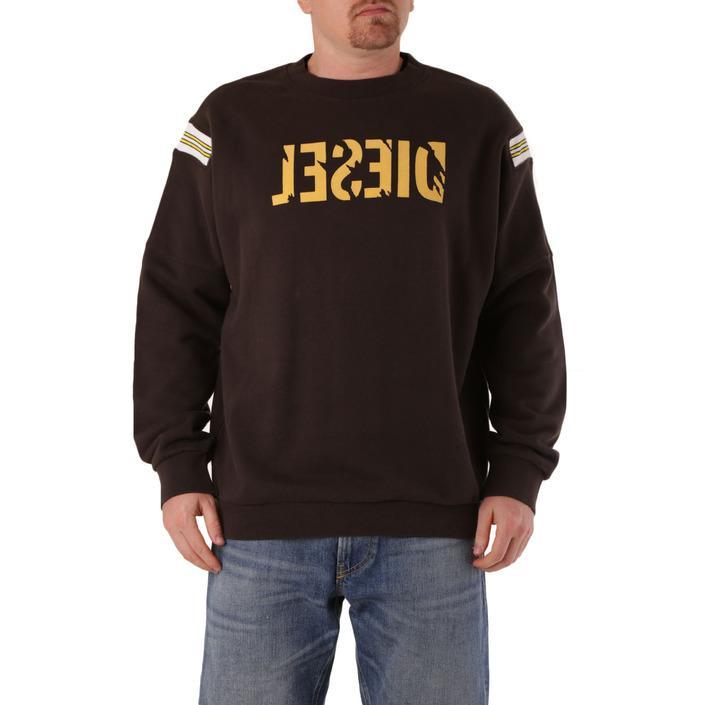 Diesel Men's Sweatshirt Brown 294137 - brown S