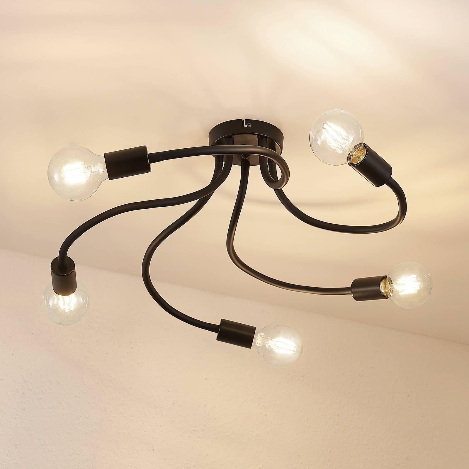 Lindby Aurina taklampe, 5 lyskilder
