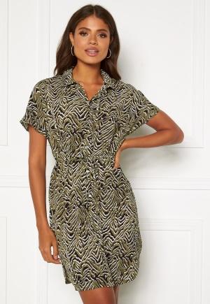 ONLY Nova Lux S/S Shirt Dress Kalamata AOP 38