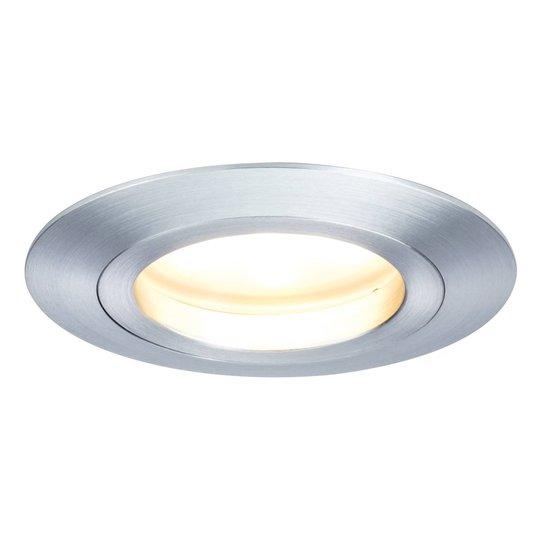 3 kpl LED-uppovalaisin Coin pyöreä IP44 alum kiert