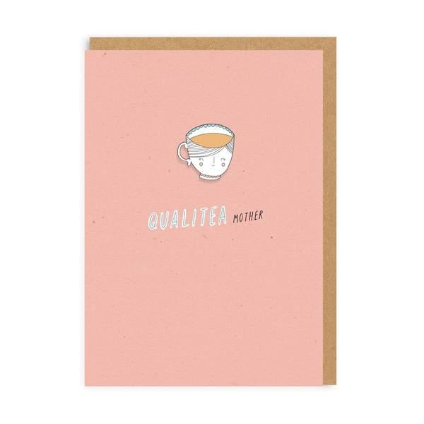 Qualitea Mother Enamel Pin Greeting Card