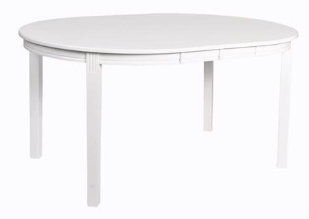 Wittskär Matbord Ovalt Vitlack 107x150 cm