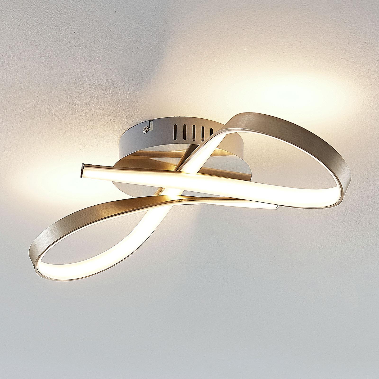 Rusetin muotoinen Alana-LED-kattovalaisin