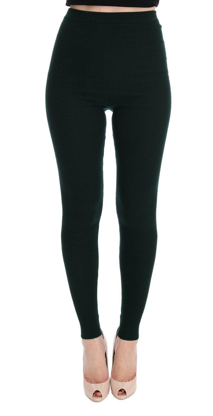 Dolce & Gabbana Women's Tights Green SIG32081 - IT40 S