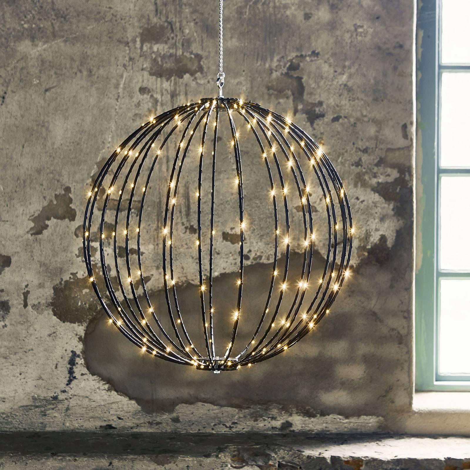 Mounty Outdoor -LED-riippuvalaisin, Ø 50 cm