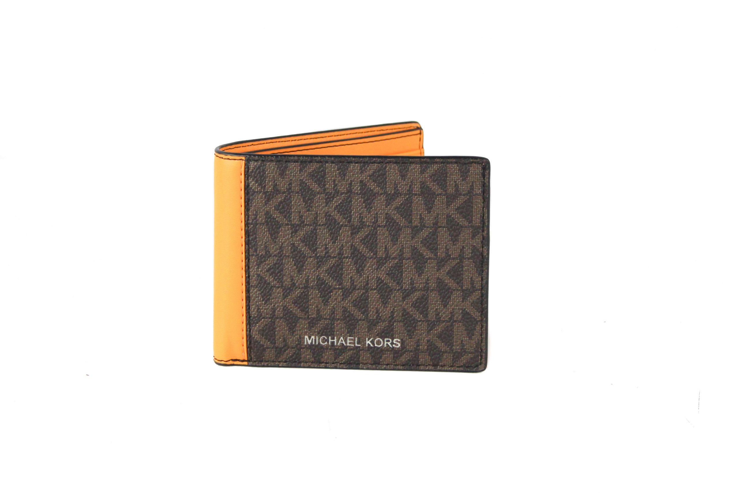 Michael Kors Men's Cooper Wallet Brown 63821