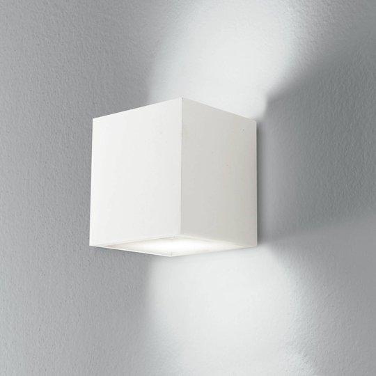Vegglampe Rubik av gips
