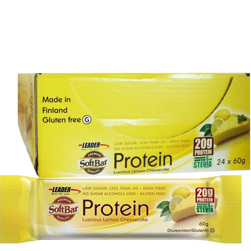 Välipalapatukat Lemon Cheesecake 24kpl - 62% alennus