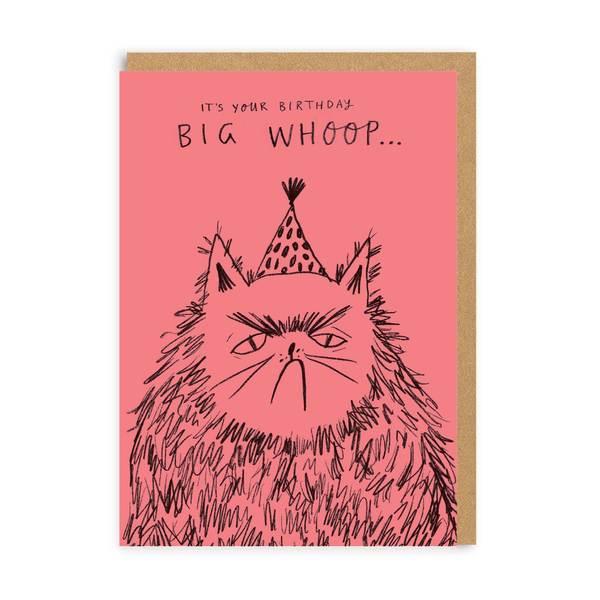 Big Whoop Birthday Greeting Card