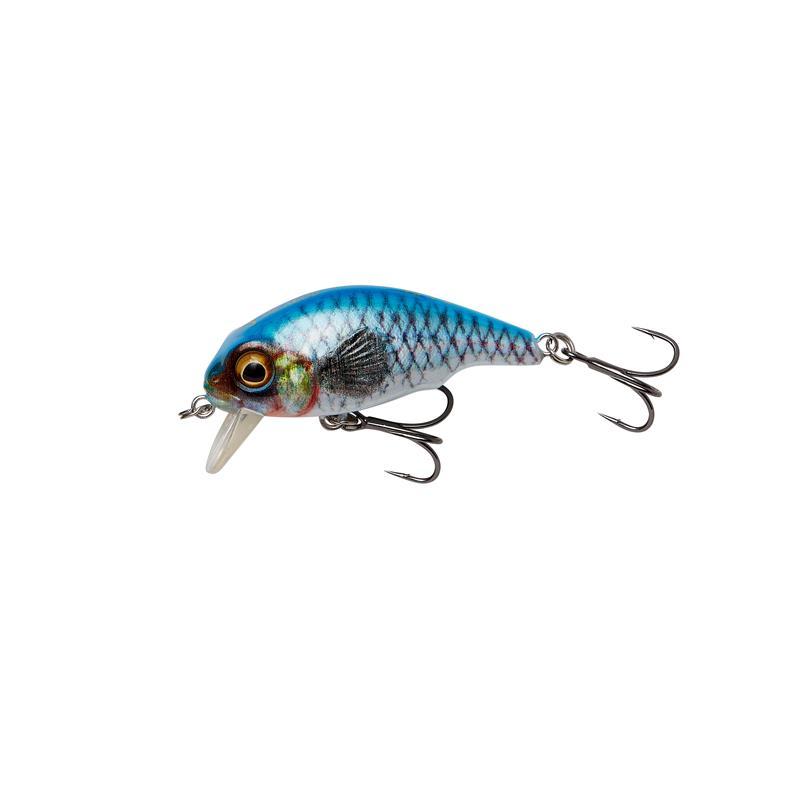 Savage Gear 3D Goby Crank SR 4cm Blue Silver, floating