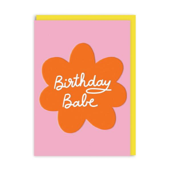 Birthday Babe Greeting Card