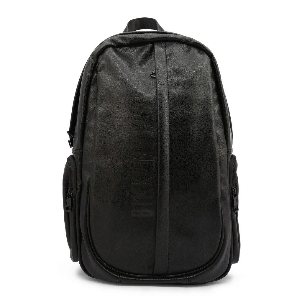 Bikkembergs Men's Backpack Black E2BPME1N0045 - black NOSIZE