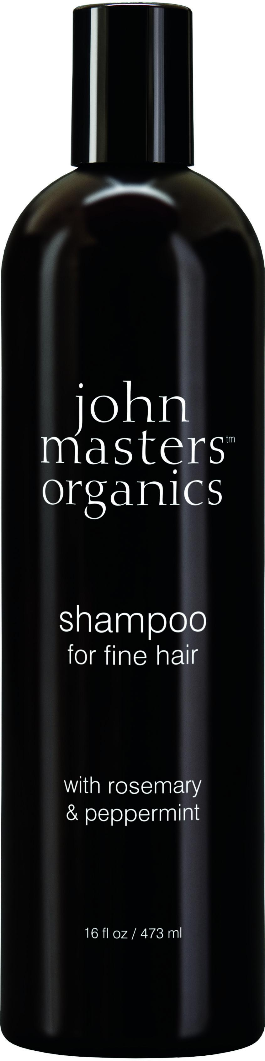 John Masters Organics - Shampoo for Fine Hair w. Rosemary & Peppermint 473 ml