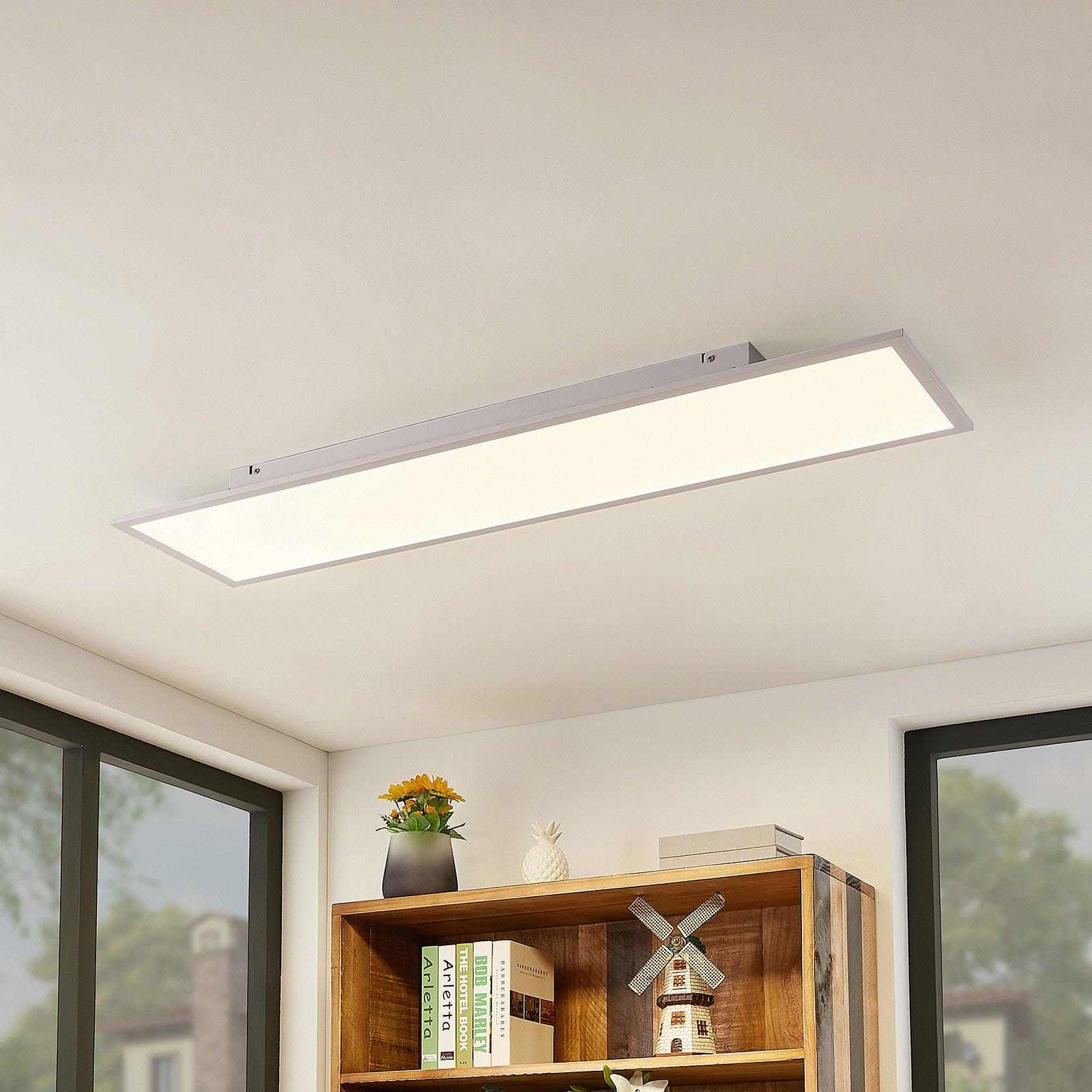 Lindby Luay LED-panel, 3 000-6 000 K, 30 x 120 cm