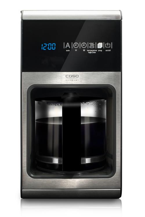 Caso 1850 1ne Black/steel 1150 Watt Kaffebryggare
