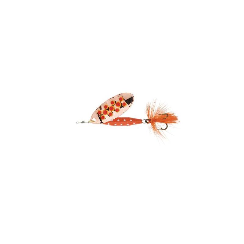 Abu Reflex Red 7gr. C/Red dots Kjøp 8 spinnere få en gratis slukboks