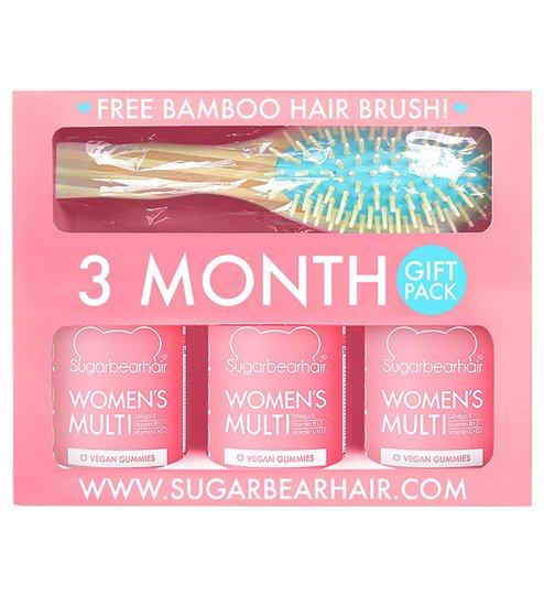Women's Multi - 3 Month Gift Pack, Sugarbearhair Hiustenhoitotarvikkeet