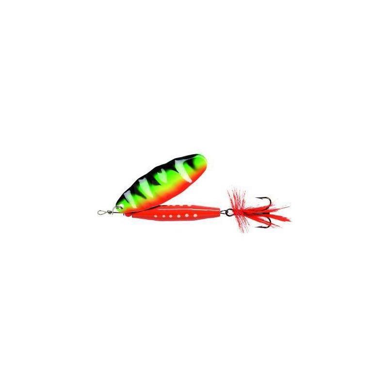 Abu Reflex Red 18g H-Tiger Kjøp 8 spinnere få en gratis slukboks