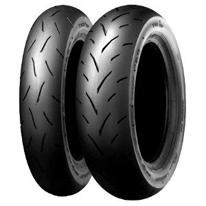 Dunlop TT 93 GP ( 120/80-12 TL 55J takapyörä, M/C, Soft )