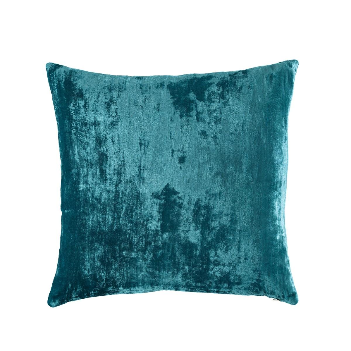 William Yeoward  Paddy Velvet Cushion Peacock