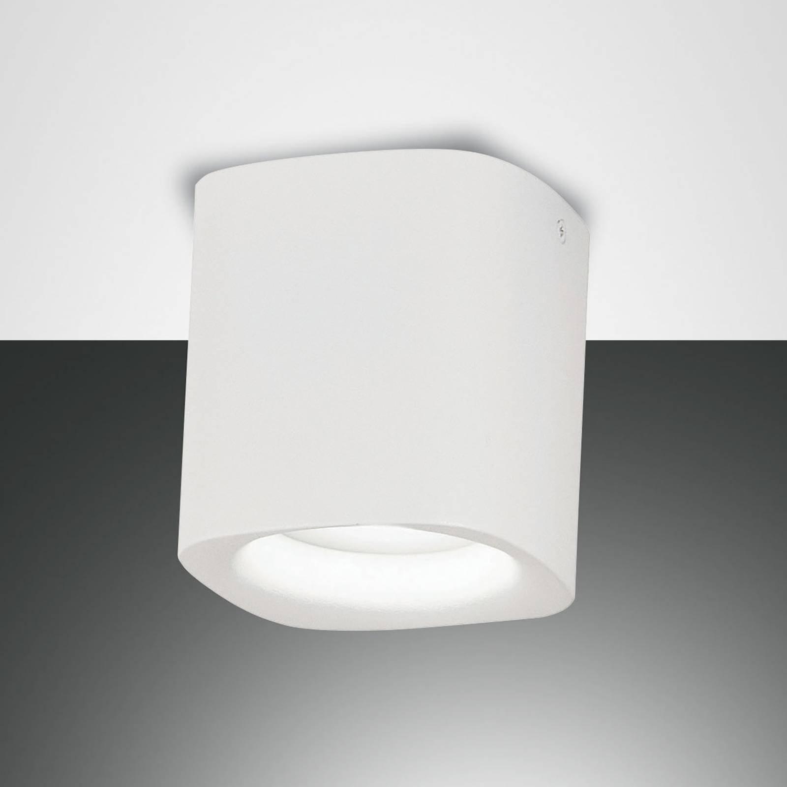 Taklampe Smooth, 1 lyskilde, hvit, IP44