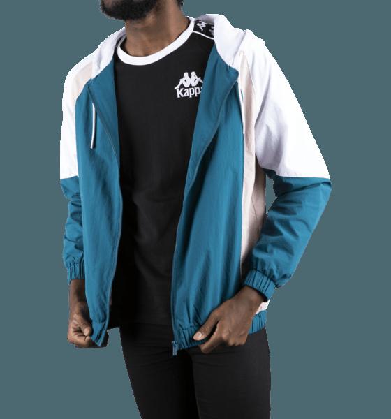 Kappa M 90 Bertes Track Jacket Jackor BLUE PETROL-WHITE-