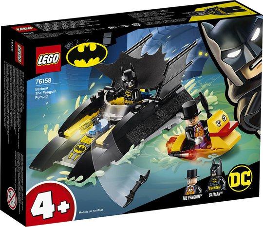 LEGO Super Heroes 76158 Batbåtens jakt på Pingvinen!