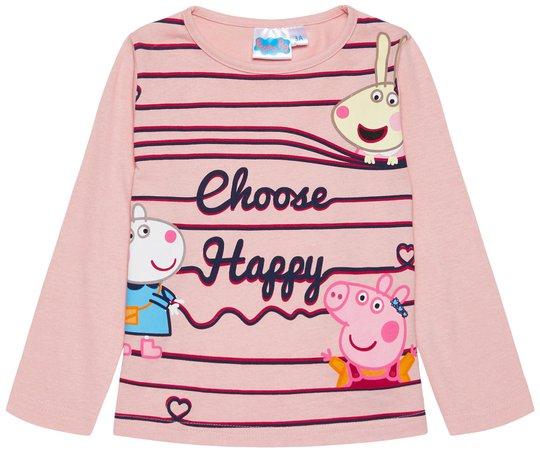 Peppa Gris T-Shirt, Pink, 5 År