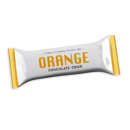 Proteinbar Chocolate Crisp Apelsin - 47% rabatt