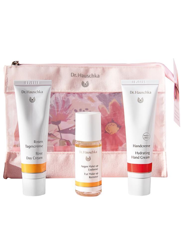 Dr Hauschka Nurturing Rose Skin Care Kit