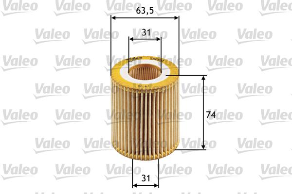 Öljynsuodatin VALEO 586510