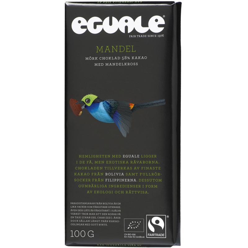 Mörk Choklad Mandel 100g - 51% rabatt