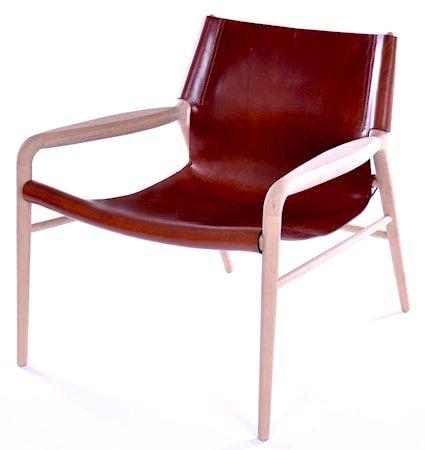 Rama chair lenestol - Såpebehandlet, cognac