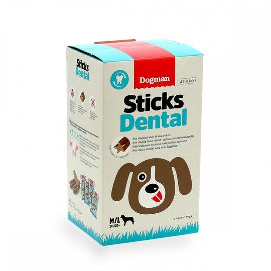 Dogman Sticks Dental 28-pack (M/L)