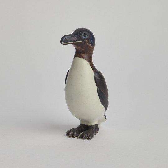Rörstrand - SÅLD Pingvin figurin av Gunnar Nylund