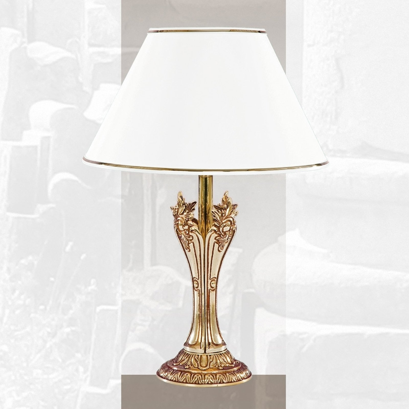 ROMA - grasiøs bordlampe