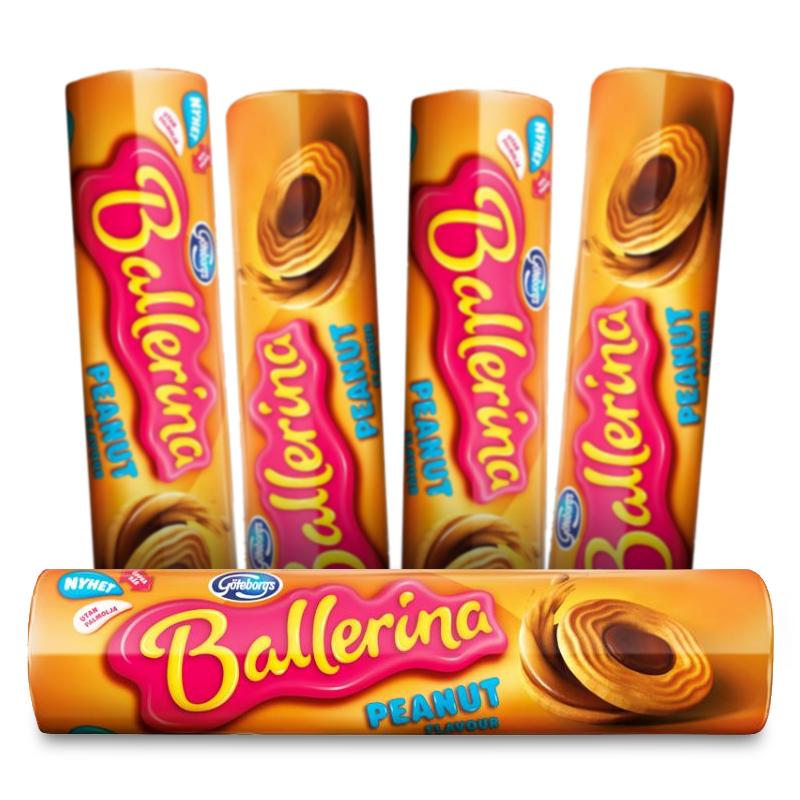 Ballerina Peanut Flavour 5-pack - 75% rabatt