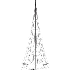 Julbelysning Fairybell Flaggstångsbelysning 6 meter, 1200 LED