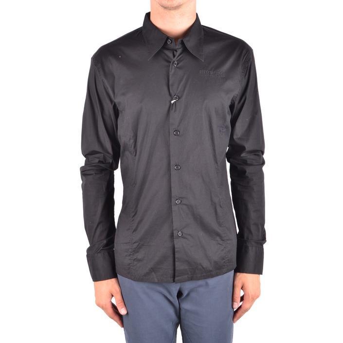Bikkembergs Men's Shirt Black 163876 - black M