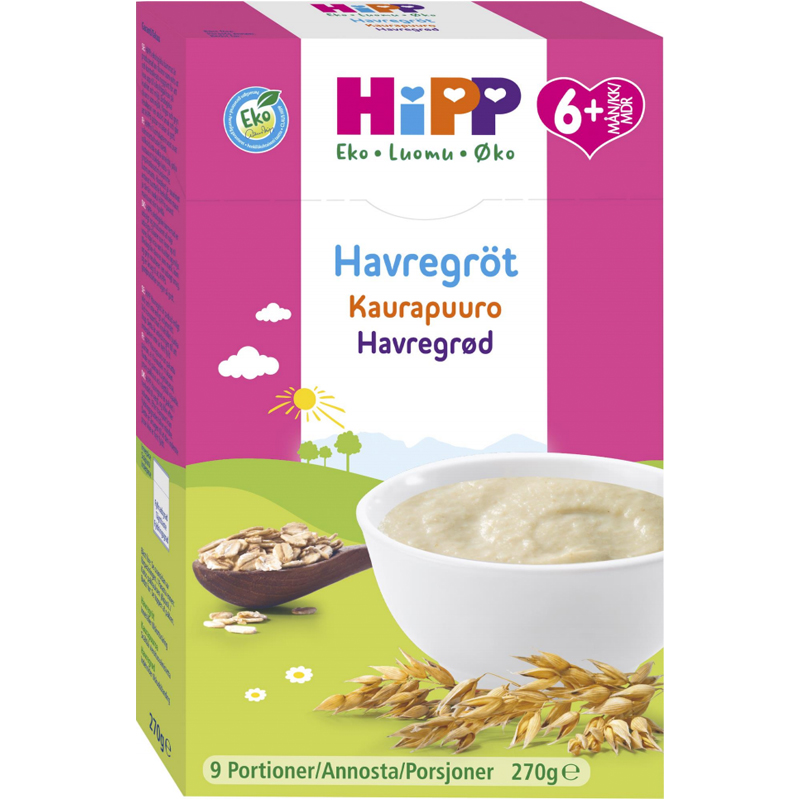 Eko Barnmat Havregröt 270g - 36% rabatt