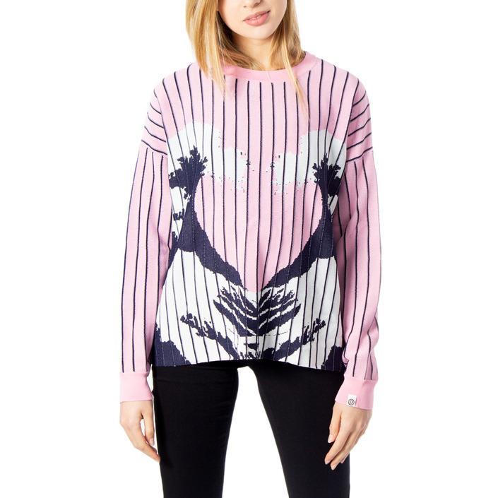 Desigual Women's Sweater Pink 170070 - pink M