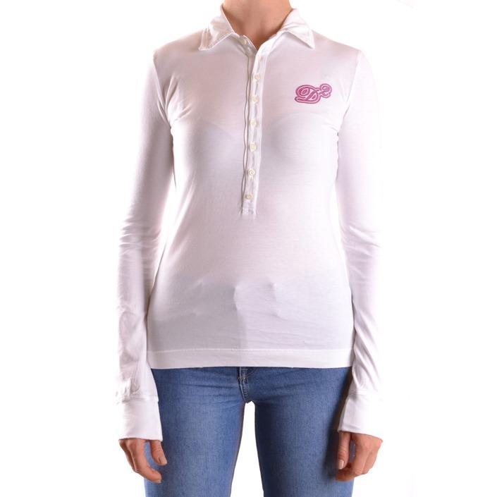 Dsquared Women's Polo Shirt White 162143 - white M