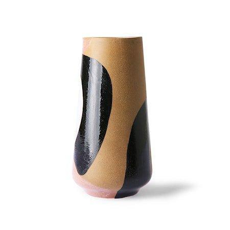 Håndmalt Flower Ceramic Vase