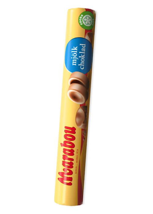 Marabou Mjölkchokladrulle - 74g