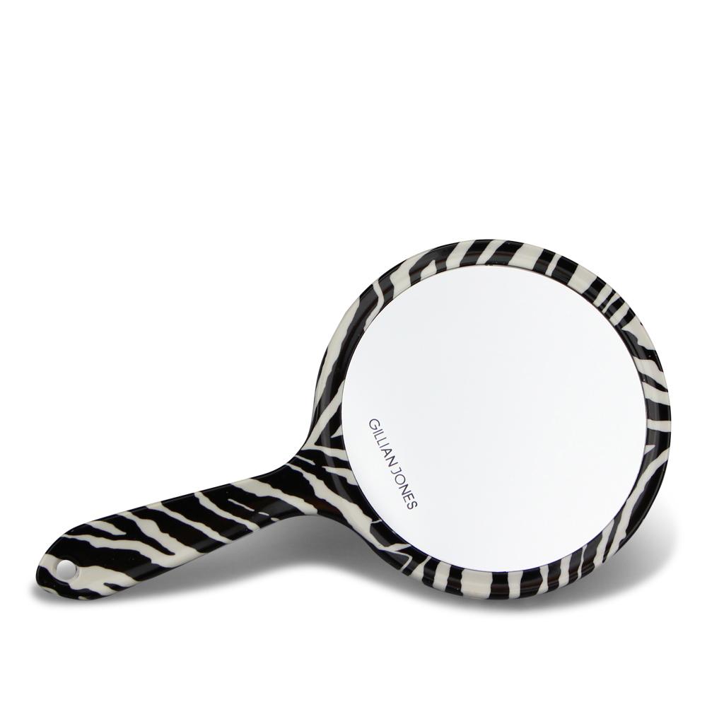 Gillian Jones - 2 side Hand Mirror - Zebra