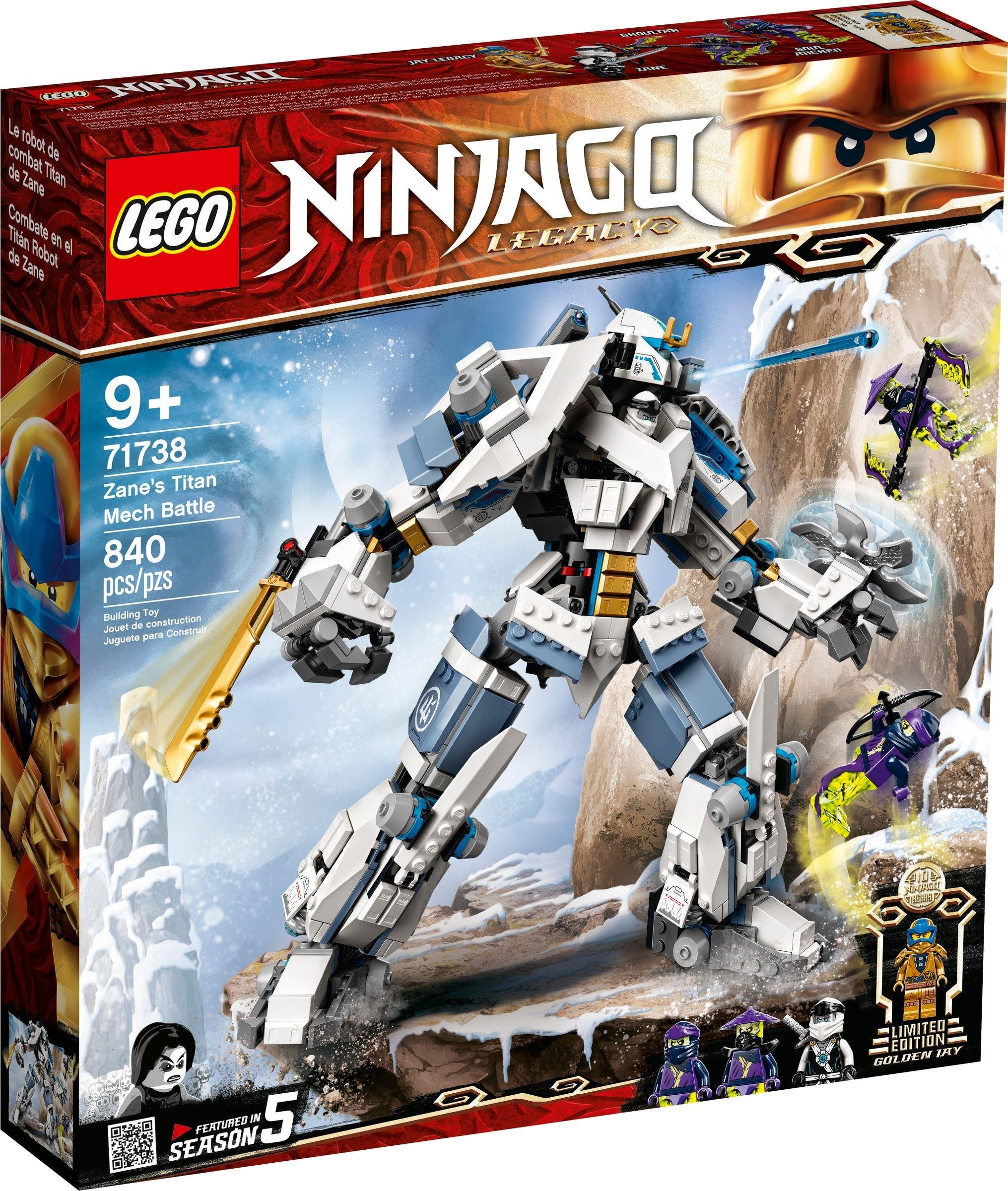LEGO Ninjago - Zane's Titan Mech Battle (71738)