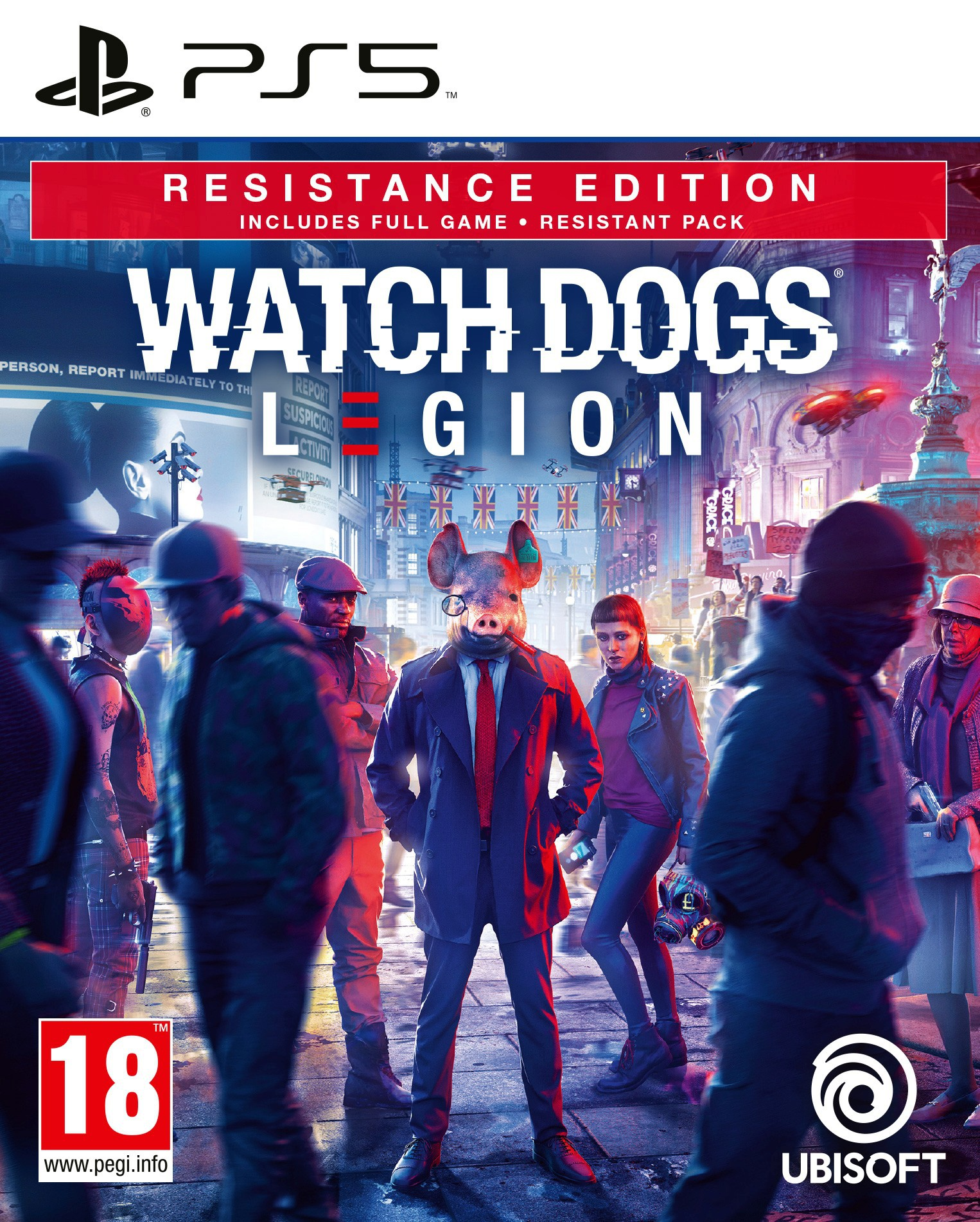 Watch Dogs Legion: Resistance Special Edition