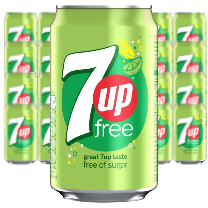 7-UP Free - 33cl x 24 st