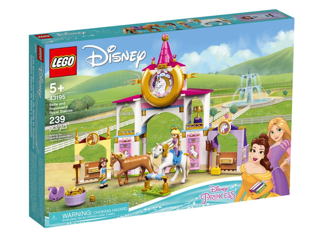 LEGO Disney Princess - Belle and Rapunzel's royal stables (43195)