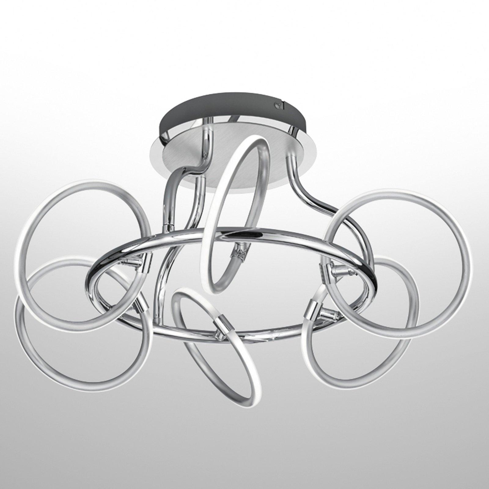 6 lyskilder LED-taklampe Olympus